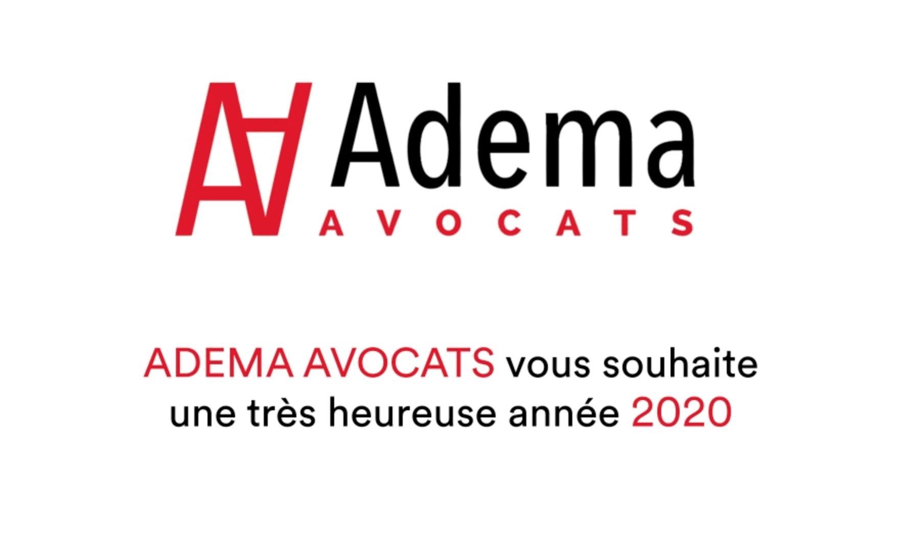 Carte de voeux Adema Avocats 2020